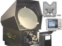 MILCO Wire EDM & Waterjet - Quality Control - Optical Comparator - Waterjet Cutting Measuring equipment